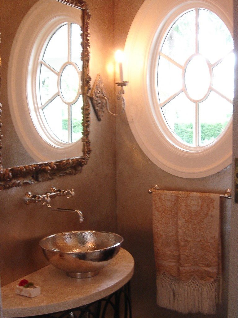 oval window, interior by James Girouard Design