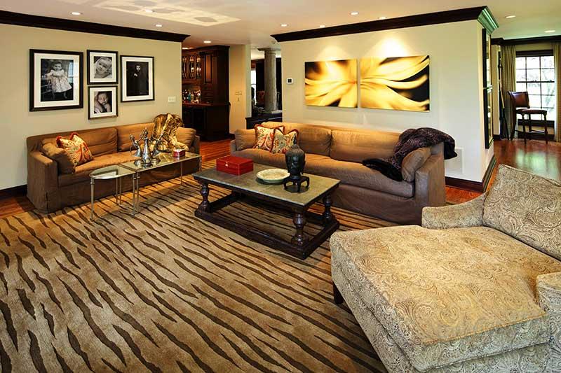 tiger stripe rug james girouard design