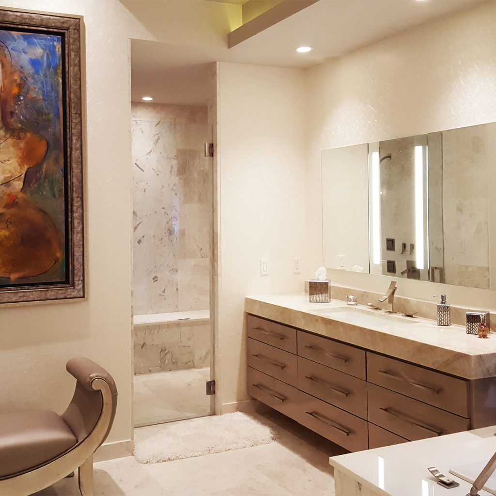 Virginia contemporary master bathroom