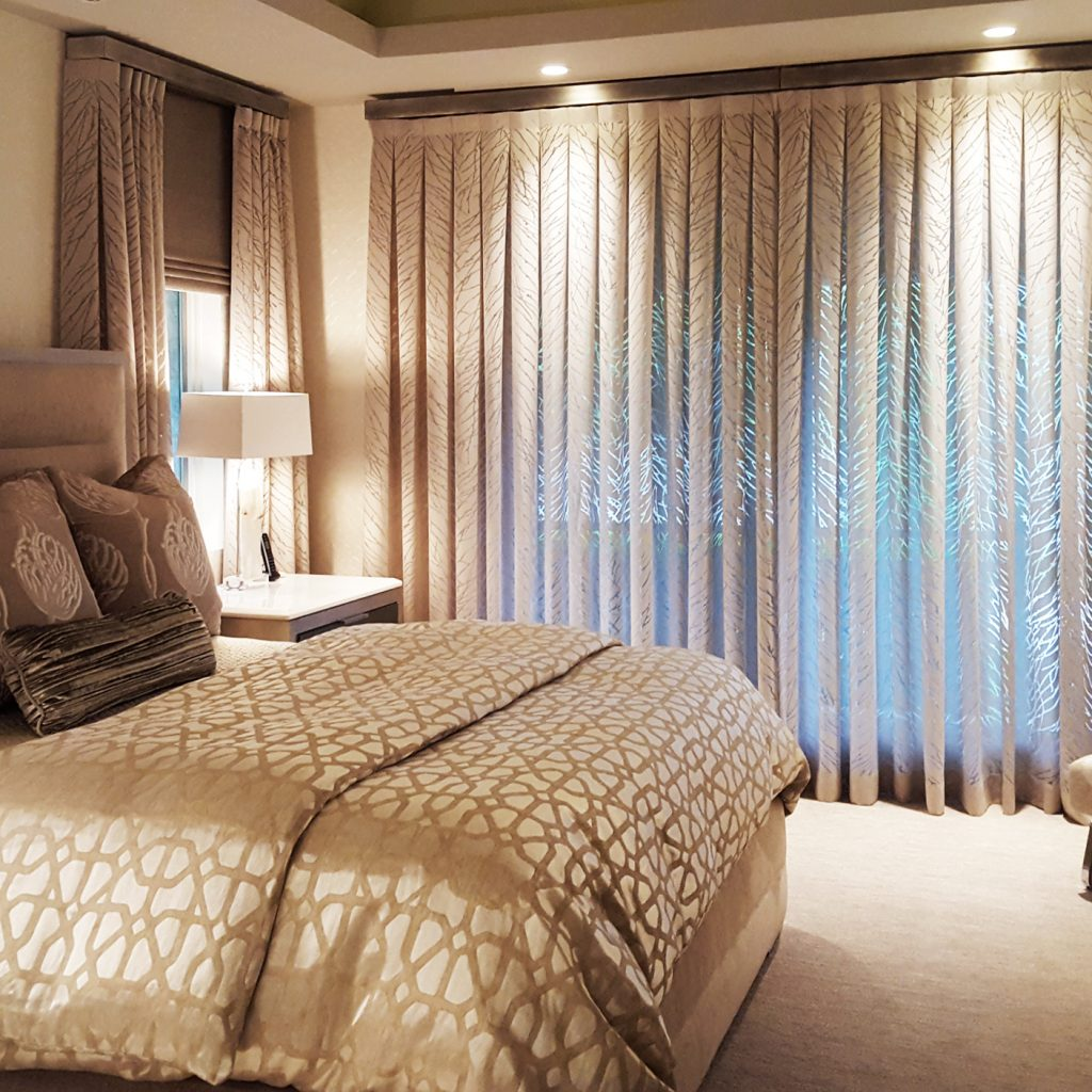 Virginia master suite master bedcoverings